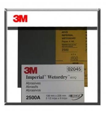 3M™ Perfect-It wet abr.pap. microfine P2500 (50 pcs.)