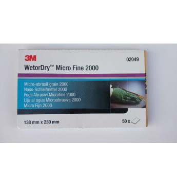 3M™ Perfect-it wet abr.pap. microfine P2000 (50 pcs.)