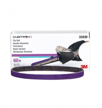 3M™ Cubitron™ file belt 10x330mm 60+