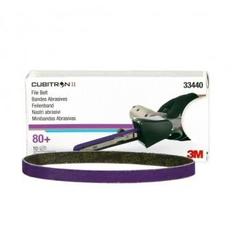3M™ Cubitron™ file belt 10x330mm 80+