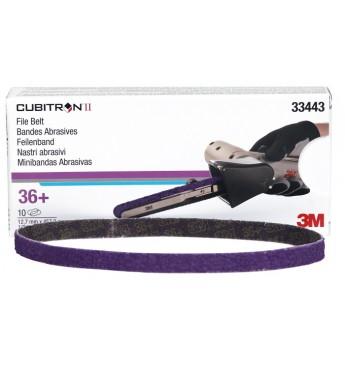 3M™ Cubitron™ II File Belt 12.7mm X 457.2mm 80+  (10 pcs.)