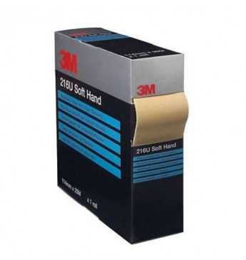 3M™ Sanding paper P400 on a soft basis 114mmx25m