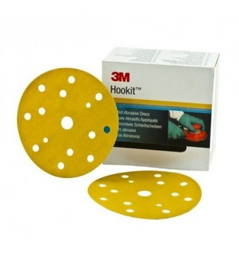 3M Hookit 255P+/15 disc 110 pcs, P500 150mm