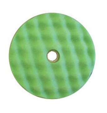 3M™ Dvipusė žalia gofruota poliravimo kempinė 216 mm greitos fiksacijos
