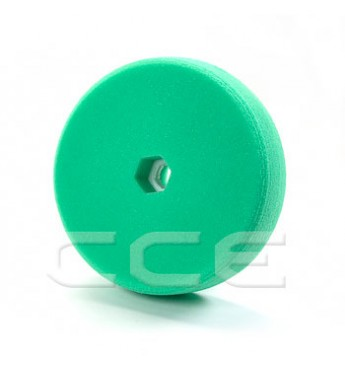 3M™ Dvipusė žalia poliravimo kempinė 150 mm  greitos fiksacijos