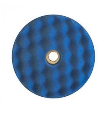 3M™ Dvipusė mėlyna gofruota poliravimo kempinė 150 mm  greitos fiksacijos