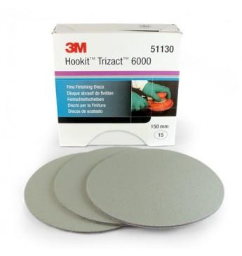 3M™ Trizact disc P6000 150mm (15 pcs.)