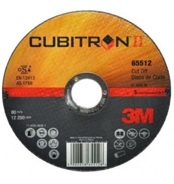 3M™ Cubitron™ II Pjovimo  diskas 125x1x22mm