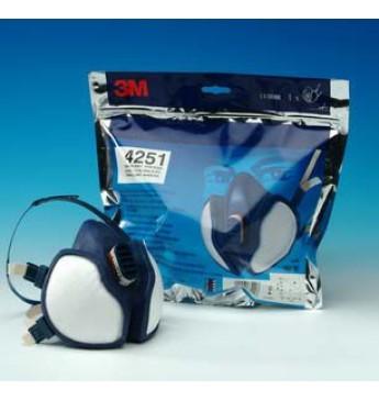3M™ Puskaukė nuo dujų ir garų