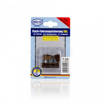 Blade Fuses 5pcs Blister 7,5A