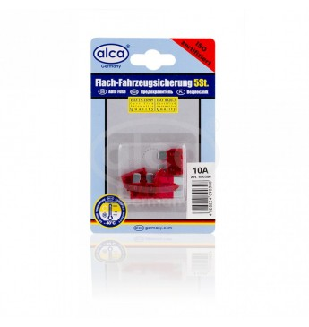 Blade Fuses 5pcs Blister 10A