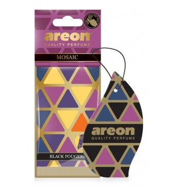 Air refreshener AREON MOSAIC Black Fougere