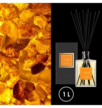 AREON HOME PERFUME STICKS GOLD AMBER, 1 l