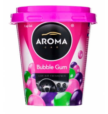 CUP GEL BUBBLE GUM