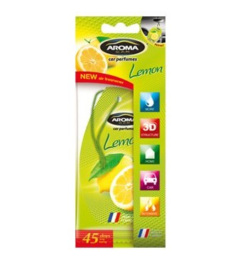 Aroma Car Fibre Lemon
