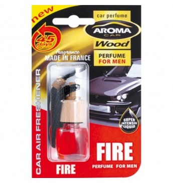 Aroma Car Wood 6ml Fire