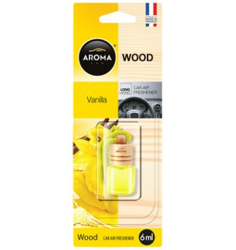 Aroma Car Wood 6ml Vanilla