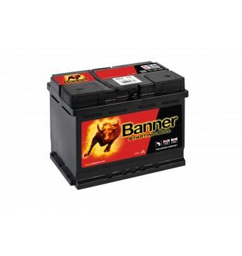 Akumulators Battery Banner 62Ah 510A Starting Bull 12V 241x175x190mm