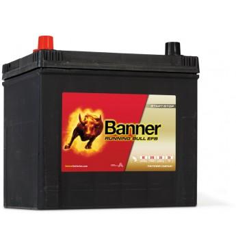 Akumulators Banner EFB 65Ah 550A +- 12V, 233x173x203/225mm
