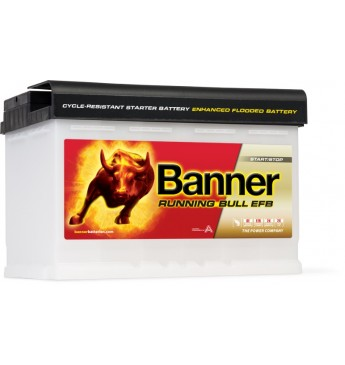 Akumulators Battery Banner EFB 70Ah 660A 12V 278x175x190mm