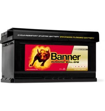 Akumulators Banner EFB 75Ah 730A 12V 315X175X175mm