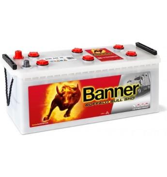 Akumulators Banner 140Ah 800A Buffalo Bull SHD 12V 514x189x195/220mm