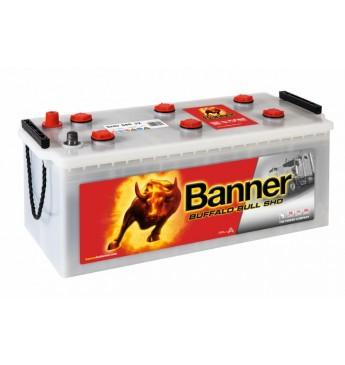 Akumulators Banner 180Ah 1000A Buffalo Bull SHD12V 514x223x195/220mm