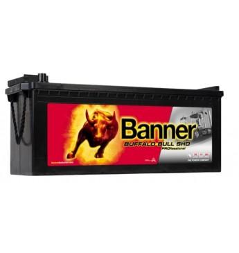 Akumulators Banner 225Ah 1150A Buffalo Bull PRO 12V 517x273x212/240mm