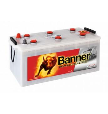 BANNER BUFFALO BULL SHD akumulators, 12V, 225Ah, 1150En