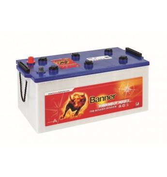 Akumulators Banner 230Ah Energy Bull 12V 517x273x212/240mm