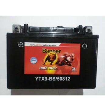Moto Banner akumulators AGM 12V 8Ah 90A 150x87x105mm