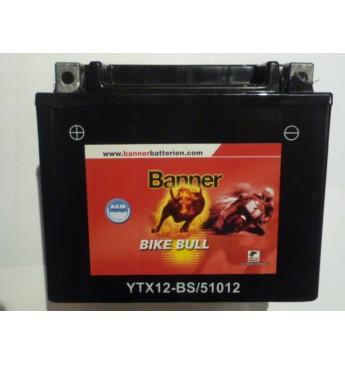 Akumulators Banner AGM 10Ah 160A Bike Bull 12V 150x87x131mm
