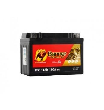 Moto Banner akumulators GEL 12V 11Ah 172A 150x87x110mm