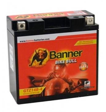 Akumulators Banner GEL 11Ah 172A Bike Bull 12V 150x87x110mm