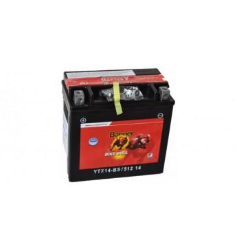 Moto Banner akumulators AGM 12V 12Ah 180A 150x87x147mm