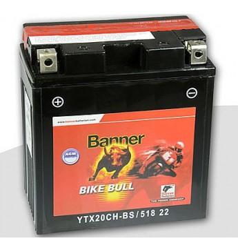 Moto Banner akumulators AGM 12V 18Ah 220A 150x87x161mm