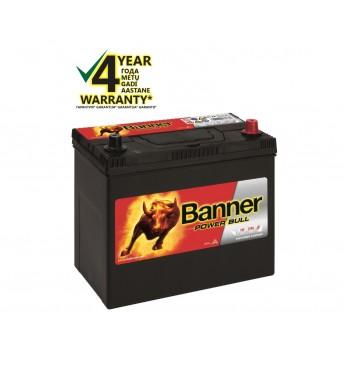 Akumulators Banner 45Ah 390A -+ 12V Power 238x129x203/225mm