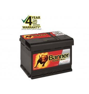 Akumulators Banner 60Ah 540A 12V Power 241x175x175mm