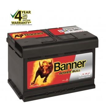 Akumulators Banner 72Ah 670A 12V Power 278x175x175mm