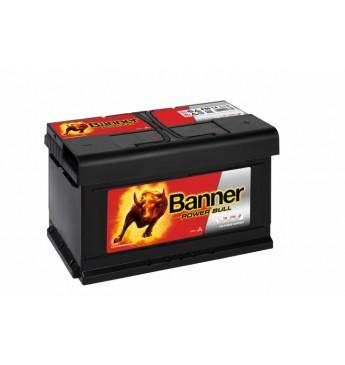 Akumulators Banner 80Ah 700A 12V Power Bull 315x175x175x175mm