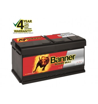 BANNER POWER BULL Ca/Ca akumulators, 12V, 95Ah, 680En