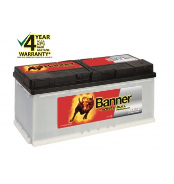 BANNER POWER BULL PRO Ca/Ca akumulators, 12V, 110Ah, 850En