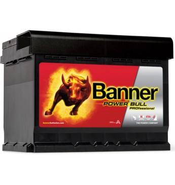 Akumulators Banner 50 Ah 400A Power PRO 12V 210x175x175mm