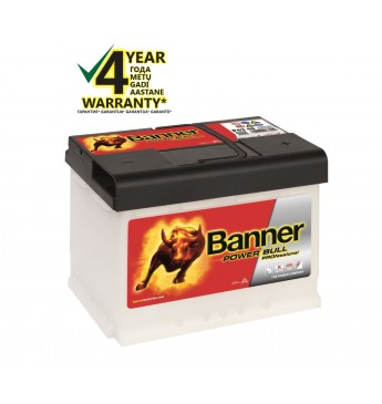 BANNER POWER BULL PRO Ca/Ca akumulators, 12V, 63Ah, 600En
