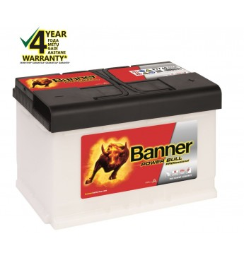 BANNER POWER BULL PRO Ca/Ca akumulators, 12V, 77Ah, 680En