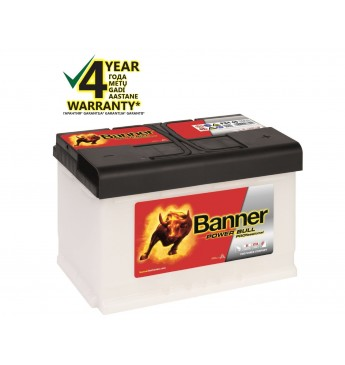 BANNER POWER BULL PRO Ca/Ca akumulators, 12V, 84Ah, 720En