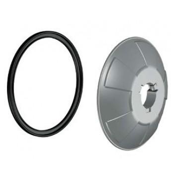 Plastikinė apsauga aliuminio ratlankiams Ø40 did. diam.