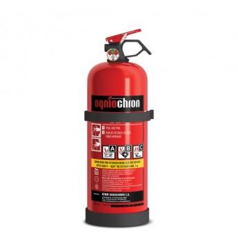 ONIOCHRON ABC Pulvera ugunsdzēšamais aparāts 2kg ar manometru, 13A - 89B