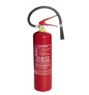 Pulvera ugunsdzēšamais aparāts 4kg ar spiediena mērītāju