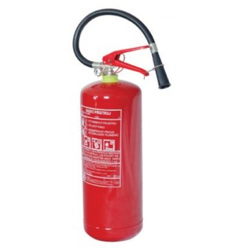 Powder fire extinguisher 6 kg